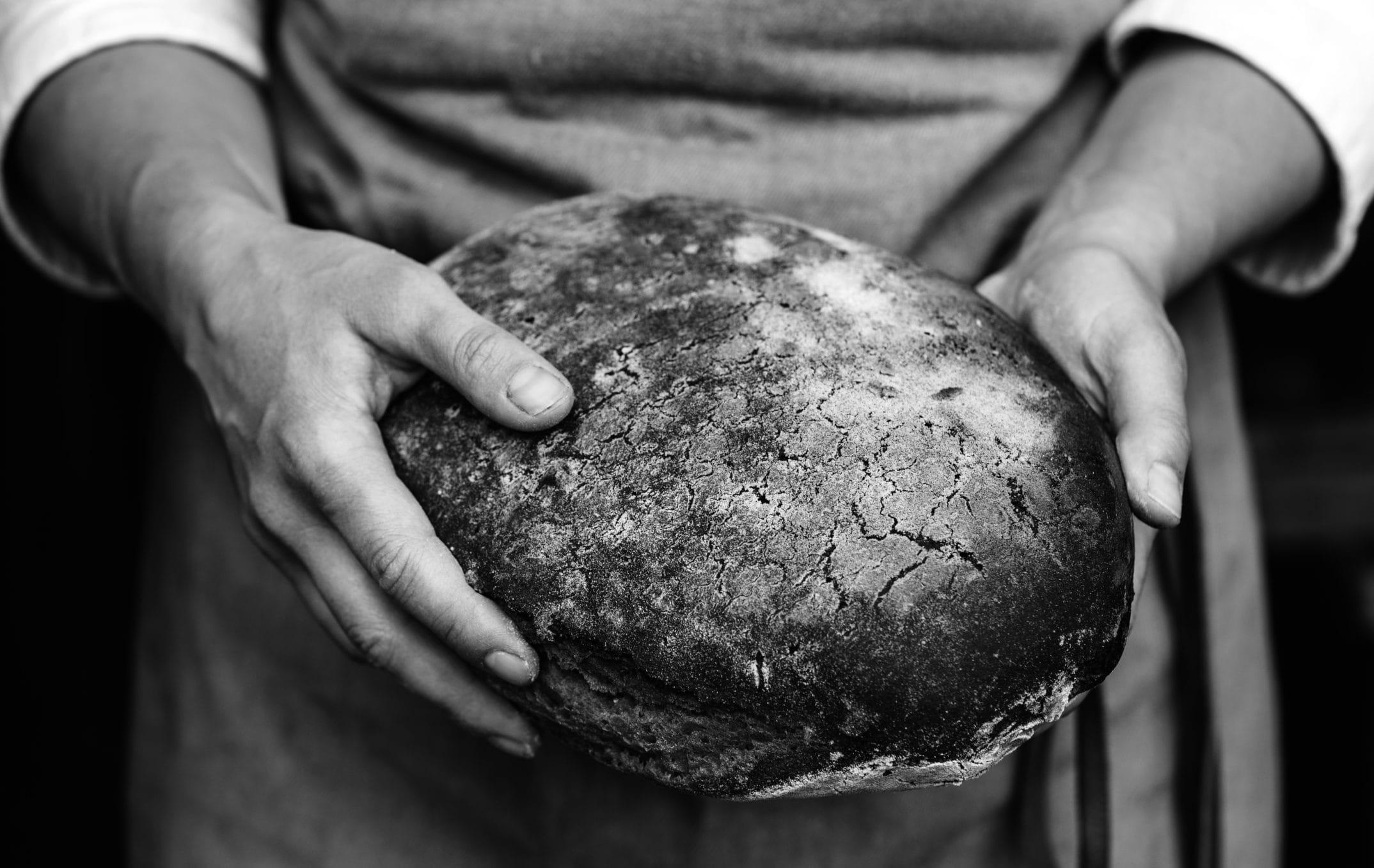 Brot Ausschnitt